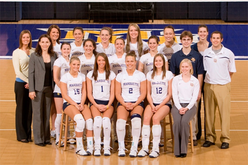 2007 Marquette Volleyball Team