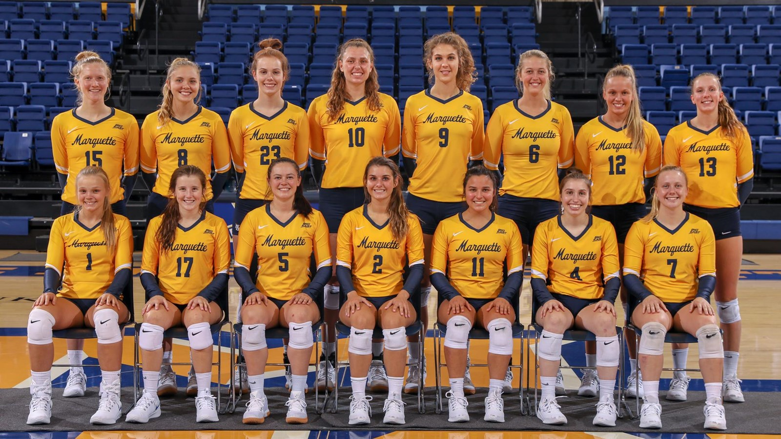 2018 Women S Volleyball Roster Marquette University Athletics