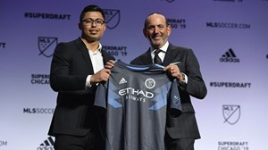 Luis Barraza MLS SuperDraft