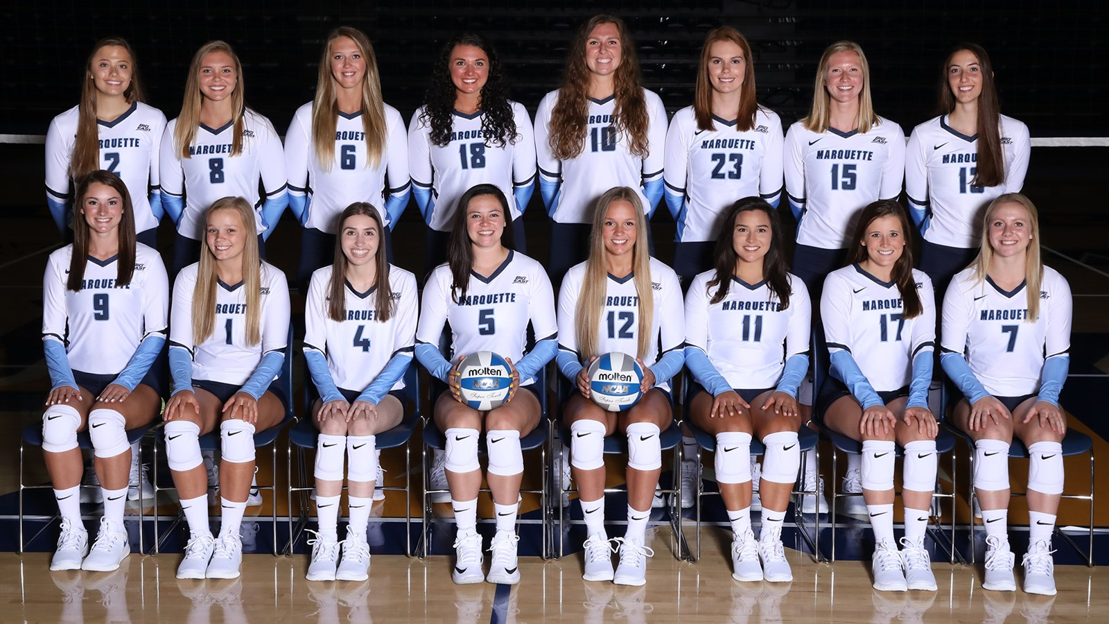 2019 Women S Volleyball Roster Marquette University Athletics